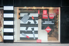 Cosmetics shop Stock Image