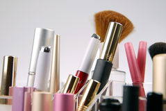 Cosmetics Soft Focus Stock Image