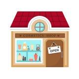 Cosmetics stores vector Stock Photos