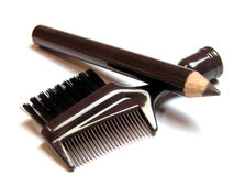 Cosmetics tools Stock Photos