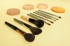 Cosmetics Tools Royalty Free Stock Photo