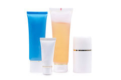 Cosmetics tubes Stock Photos