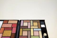 Cosmetics on white Royalty Free Stock Photo