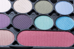 Cosmetics. The cosmetics on white background Stock Photos