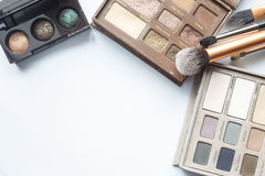 Cosmetics on white Stock Images