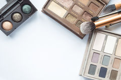 Cosmetics on white Stock Image