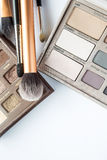 Cosmetics on white Stock Photography