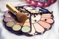 Cosmetics for women Royalty Free Stock Images