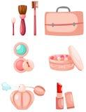 cosmeticset stock illustrationer