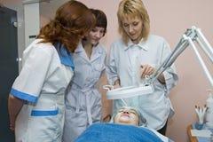 Cosmetologia Imagem de Stock