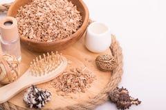 Cosmetologia médica, cuidado dos termas, aromaterapia Fotografia de Stock