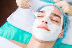 Cosmetologia maschio immagini stock