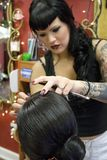 Cosmetologist stock photography