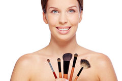 Cosmetologist Stock Photo