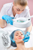 Cosmetology procedures Royalty Free Stock Photography
