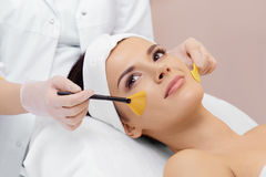 Cosmetology. Spa clinic. Royalty Free Stock Image
