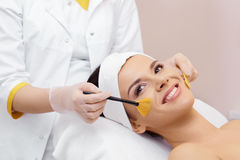 Cosmetology. Spa clinic. Royalty Free Stock Photos