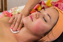 Cosmetology spa facial Stock Photography