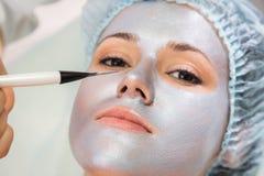 Cosmetology spa facial Royalty Free Stock Photos