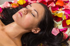 Cosmetology spa facial Stock Images