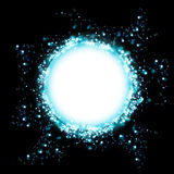 Cosmic abstract background. The illustration contains the image of abstract background Royalty Free Stock Images