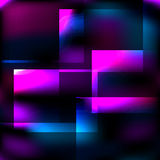 Cosmic abstract glass background. Vector Eps10 Royalty Free Stock Photos