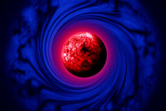 Cosmic Attraction Royalty Free Stock Images