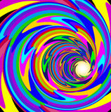 Of the cosmic background with bright spiral lines. Illustration of the cosmic background with bright spiral lines Stock Photos