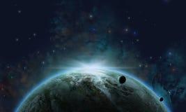 Cosmic Background Royalty Free Stock Photo
