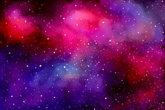 Cosmic background Royalty Free Stock Photo
