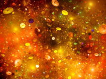 Cosmic bubbles in space Royalty Free Stock Images
