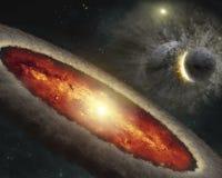 Free Cosmic Catastrophe Stock Image - 207724801