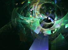 Cosmic Chaos Stock Image