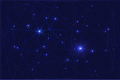 Cosmic constellation with stars Stock Images