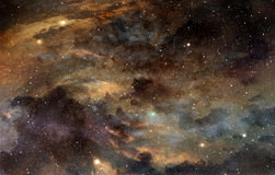 Cosmic dust Royalty Free Stock Image