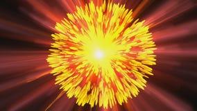 Cosmic Explosion stock footage