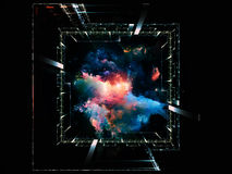 Cosmic geometry Royalty Free Stock Image