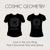 Cosmic Geometry T-Shirt Royalty Free Stock Images