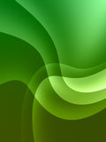 Cosmic green background Stock Images