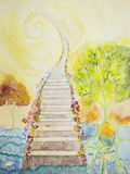 Cosmic ladder with tree of life.