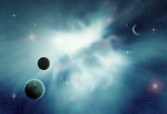 Cosmic Landscape Royalty Free Stock Image