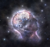 Cosmic mind Royalty Free Stock Images