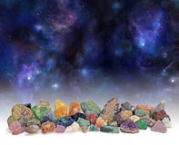 Cosmic Mineral Collection Royalty Free Stock Photos