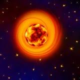 The Cosmic nebula Royalty Free Stock Photography