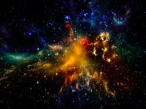 Cosmic Nebula Royalty Free Stock Photo