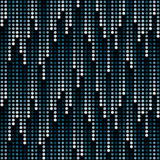 Cosmic rain of halftone dots Royalty Free Stock Photography