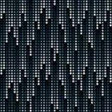 Cosmic rain of halftone dots vector illustration