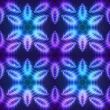 Cosmic shining vector abstract seamless pattern Royalty Free Stock Photos