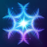 Cosmic shining vector abstract star Stock Photo