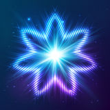 Cosmic shining vector abstract star Stock Photos